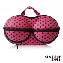 Lingerie Case Travel Bra Organizer BRA - Dark Pink